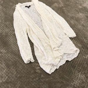 Cute & Cozy Cream Cardigan - Size XL